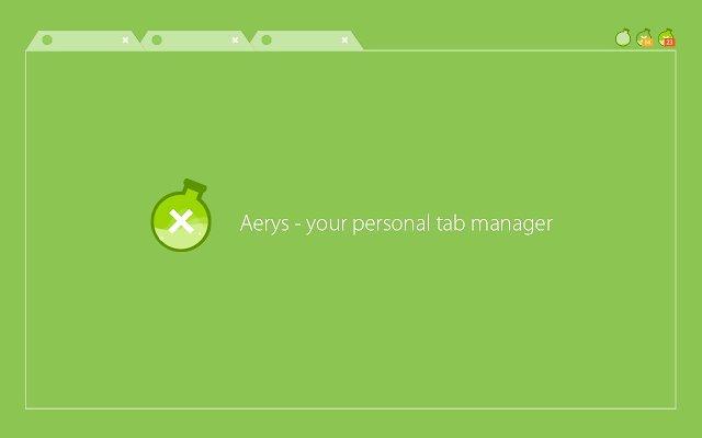 Aerys 窗口标签管理器的使用截图[3]