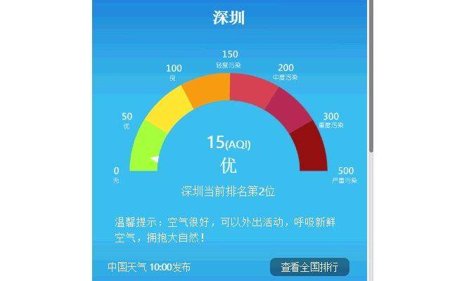 China Weather 中国天气预报的使用截图[5]
