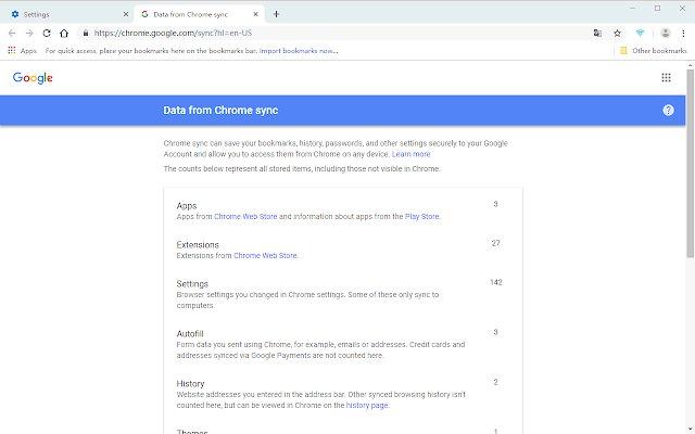 Chrome 同步助手的使用截图[1]