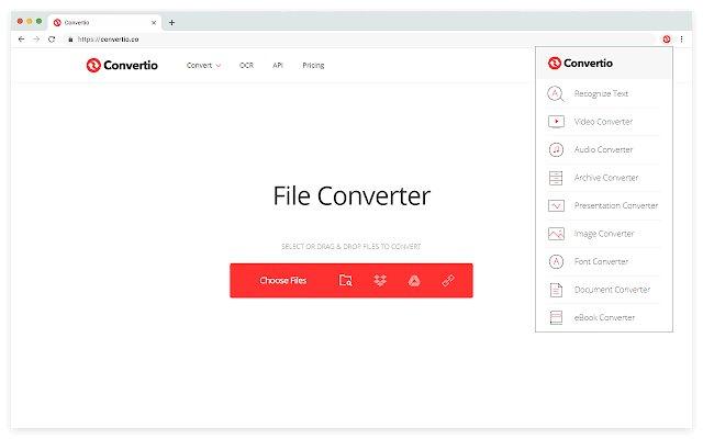 Convertio 超级文件格式转换器的使用截图[1]