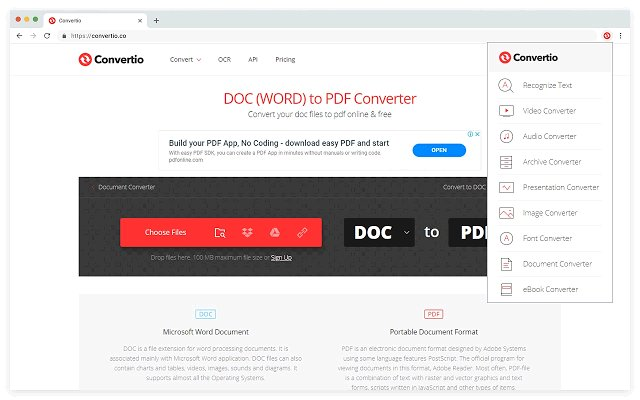 Convertio 超级文件格式转换器的使用截图[4]