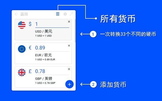 货币转换器的使用截图[2]