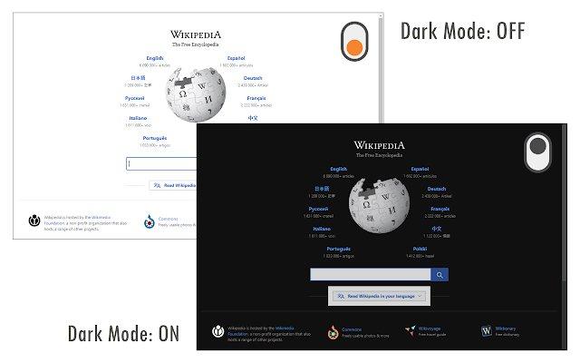 DarkMode 黑暗模式的使用截图[1]