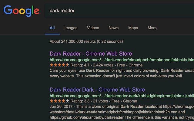 Dark Reader的使用截图[2]