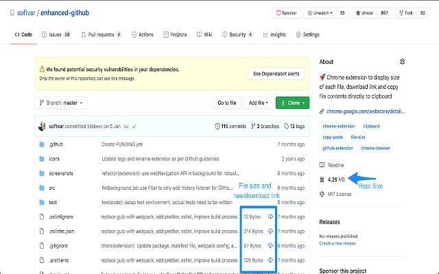 Enhanced GitHub的使用截图[1]