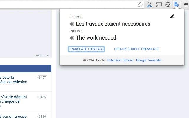 Google 翻译的使用截图[3]