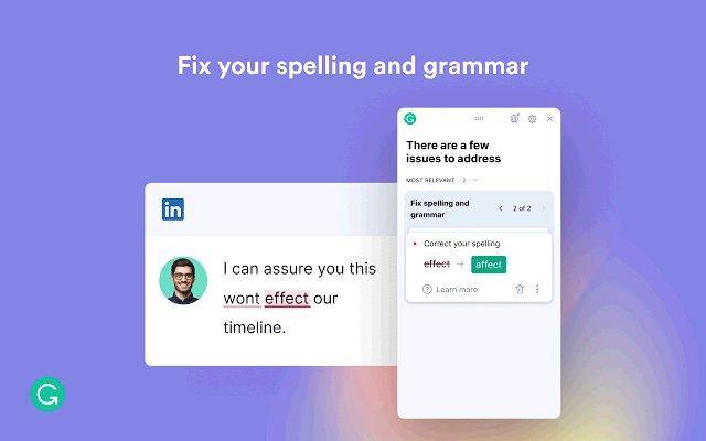 Grammarly for Chrome的使用截图[2]
