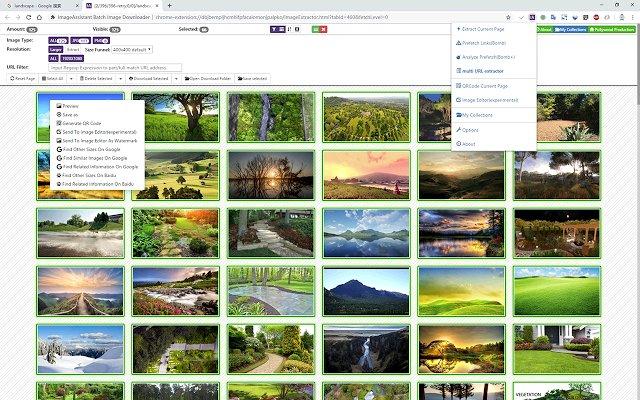 图片助手(ImageAssistant) 批量图片下载器的使用截图[2]