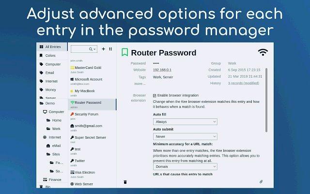 Kee 密码管理器的使用截图[2]