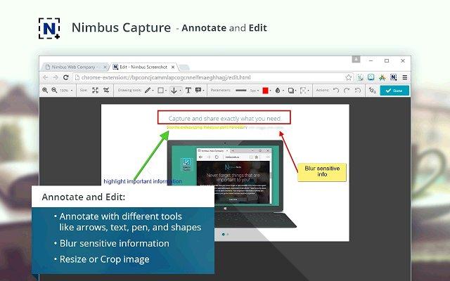 Nimbus Screenshot 截屏录像的使用截图[5]