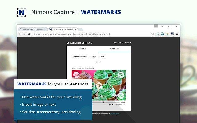 Nimbus Screenshot 截屏录像的使用截图[4]