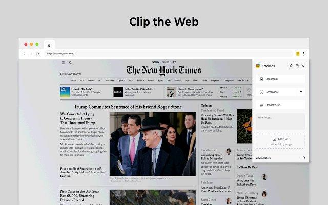 Notebook Web Clipper的使用截图[2]