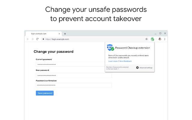 密码安全检查扩展程序的使用截图[2]