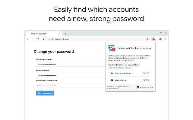 密码安全检查扩展程序的使用截图[3]
