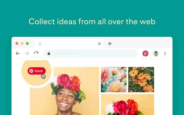 Pinterest 收藏按钮的使用截图[1]