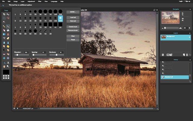 Pixlr Editor 图片编辑器的使用截图[3]