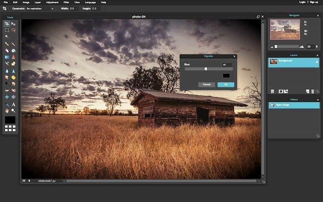Pixlr Editor 图片编辑器的使用截图[5]