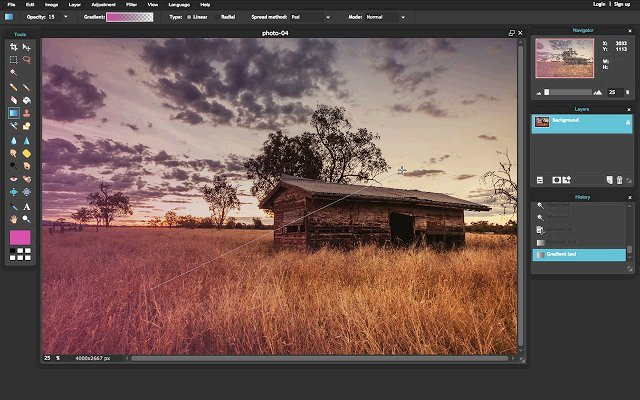 Pixlr Editor 图片编辑器的使用截图[4]