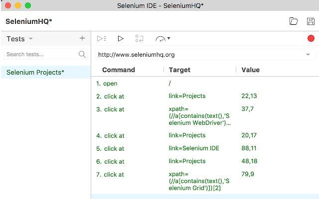 Selenium IDE的使用截图[2]