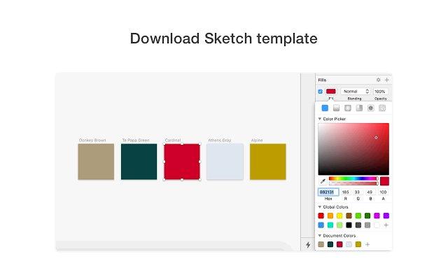 Site Palette 提取配色的使用截图[3]