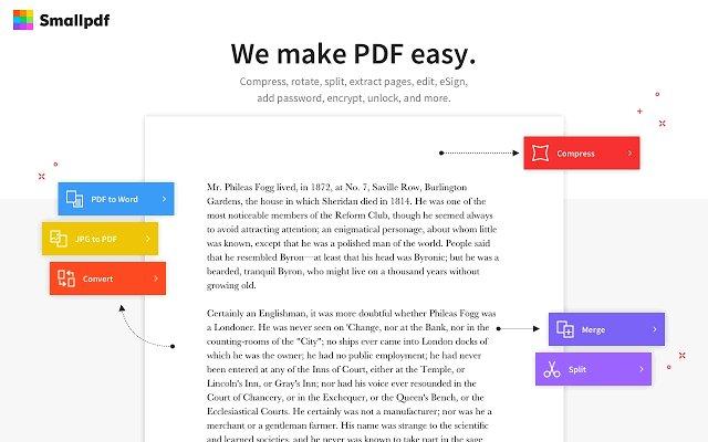 Smallpdf PDF工具的使用截图[1]