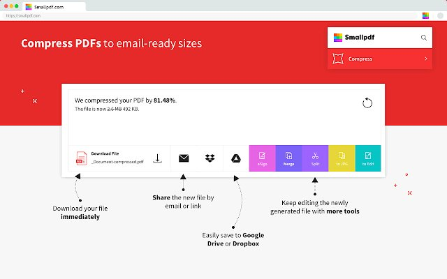 Smallpdf PDF工具的使用截图[4]
