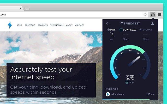 Speedtest by Ookla 网速测试的使用截图[1]