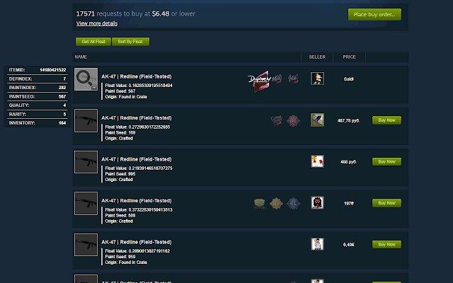 Steam Inventory Helper的使用截图[5]