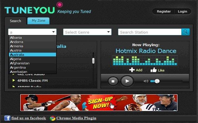 无线电 TuneYou Radio的使用截图[1]