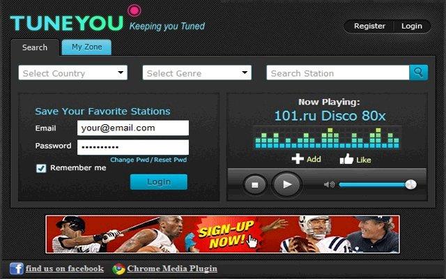 无线电 TuneYou Radio的使用截图[3]