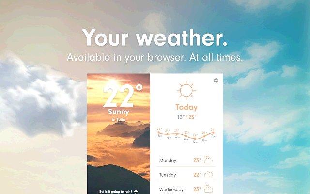 Weather 天气的使用截图[1]