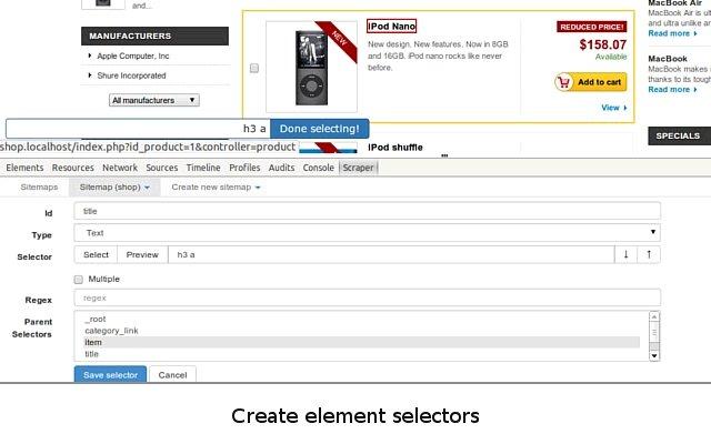 网页爬虫 Web Scraper的使用截图[2]